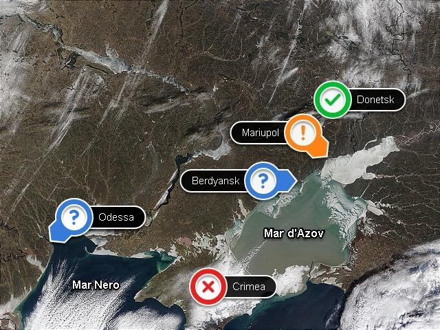 Mariupol, strategica città portuale ed industriale sul Mar d'Azov